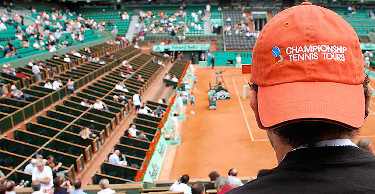 PARLEZ-VOUS ROLAND GARROS? WE DO! Packages and Tickets Available Now. See tennis history, LIVE!
